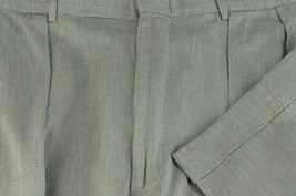 Polo Ralph Lauren Men's Gray Check Cotton Pleated Casual Pants 37 x 30 - $35.99