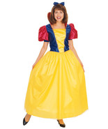 RUBIE'S DELUXE CLASSIC STORYBOOK SNOW WHITE ADULT COSTUME SIZE STANDARD 15069 - $41.96