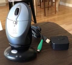 Logitech C-BO33 Cordless Desktop Receiver and Logitech Mouse - Wireless - €4,33 EUR