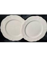 "Vintage Federalist Ironstone Dinner Plates  (2)  10-1/2"" 4328 Made in Japan - $30.00"