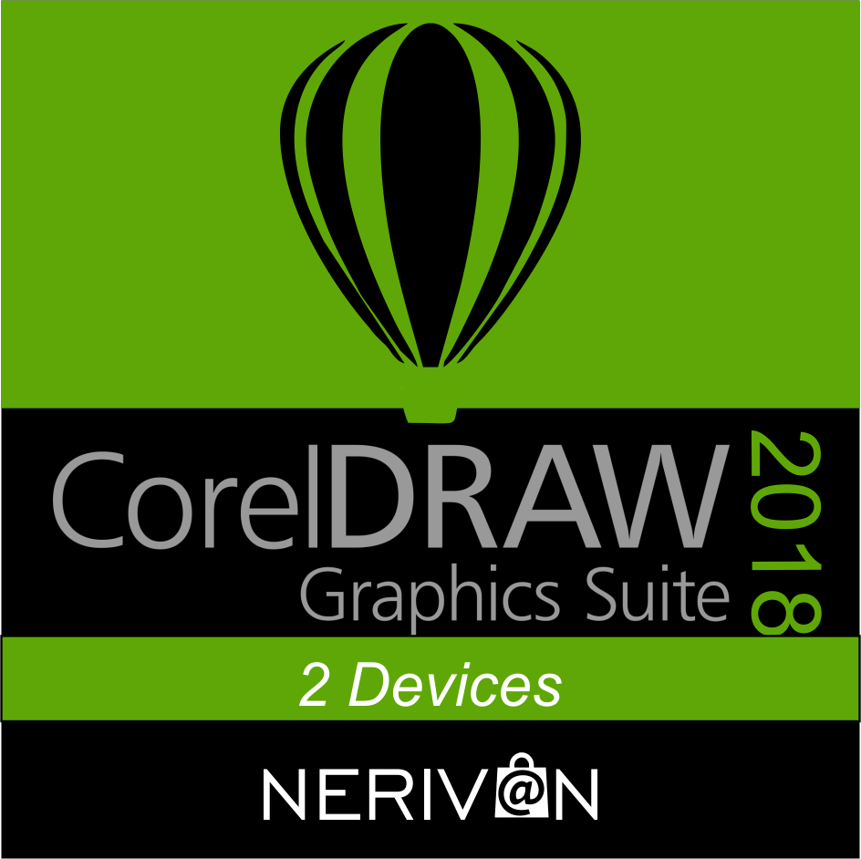 Coreldraw 2018 2 devices