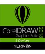 CorelDRAW Graphics Suite 2018 | 2 Devices - Genuine Serial Number - $26.55