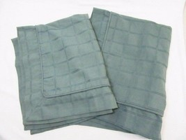 Simply Vera Wang Embroidered Windowpane Solid Green Standard Shams (Set of 2) - $37.00