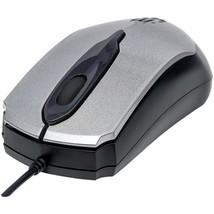 Manhattan 179423 Edge Optical USB Mouse (Gray/Black) - $21.72