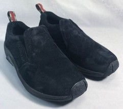 Merrell Jungle MOC Size 6.5 EUR 37 Midnight Black Suede shoes - $45.00