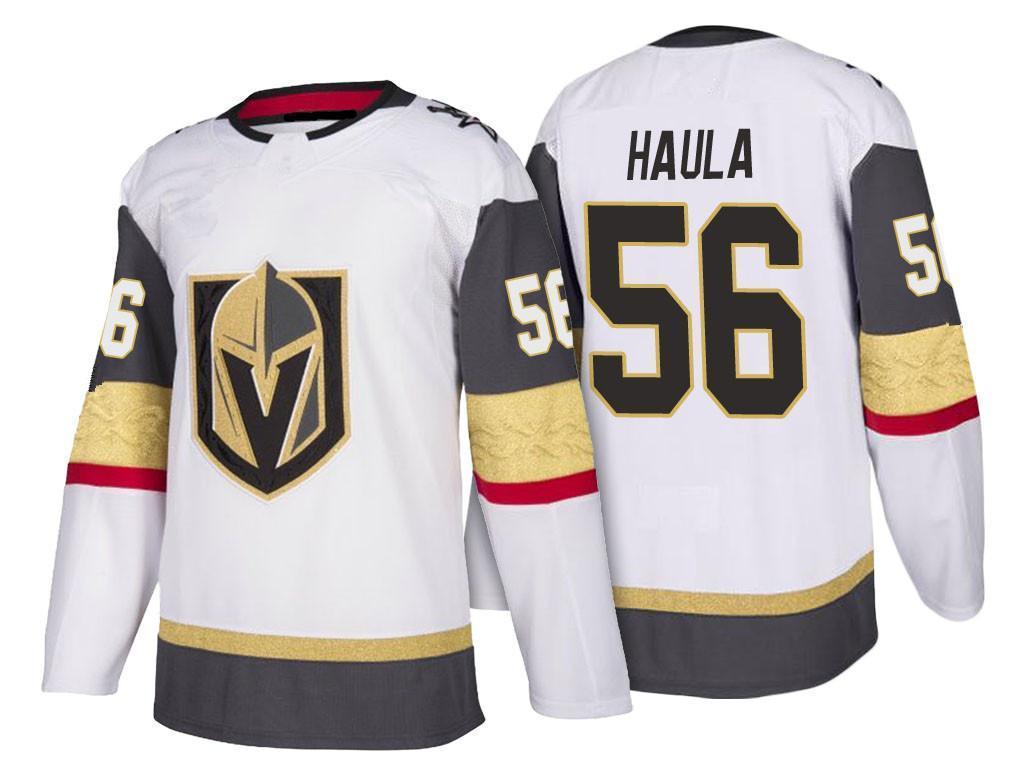 17707ab5a ... Men's Vegas Golden Knights #56 Erik Haula Jersey White 2018 NHL  Stitched ...
