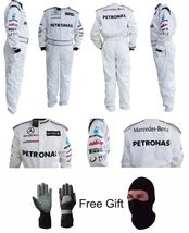 Go Kart Mercedes PETRONAS Race Suit CIK/FIA Level 2 Approved With Free G... - $160.99