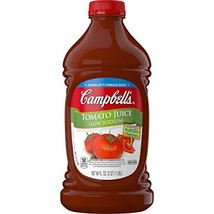 Campbell's Low Sodium Tomato Juice, 64 oz. Bottle Pack of 6 - $31.04