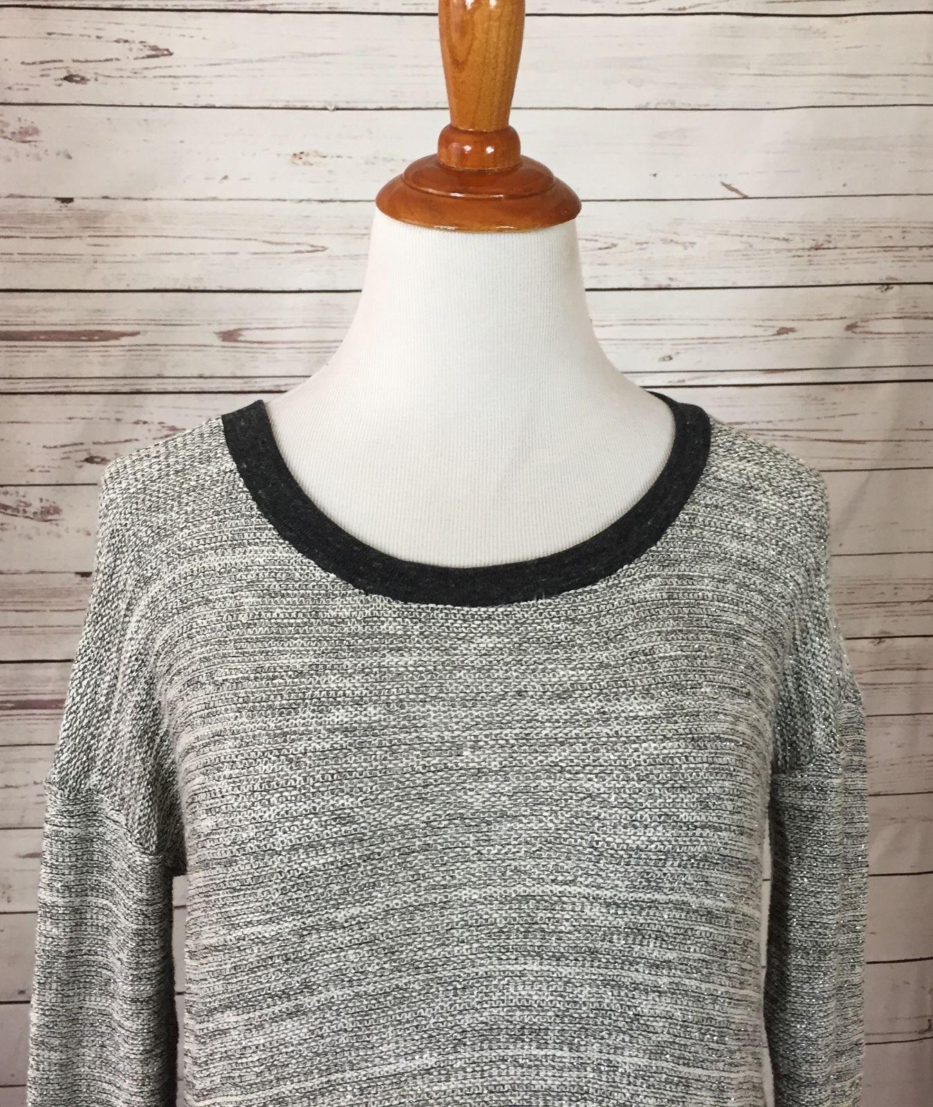 Splendid Sparkle Accent Knit Top XS