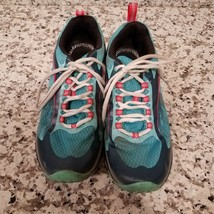 Womens 9 M Merrell J35514 Blue Siren Edge Hiking Blue Sneaker Shoes Vibram Trail - $39.99