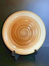 "Gibson Everyday OCEAN DREAM Brown Swirls 10 3/4""  Dinner Plate Stoneware EUC - $19.79"