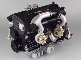 NISSAN SKYLINE GTR R32 MINE'S RB26DETT TURBO ENGINE 1/6 SCALE MODEL IN J... - $656.00