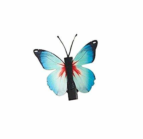 Set of 3 Butterfly Hair Pin Fashion Hair Clip Creative Hairpin,1.97'',Light Blue