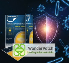 PatchMD Immune Defense Plus - Topical Patch (30 Day Supply) - EXP 2022 - $15.55
