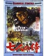 Akira Kurosawa Seven Samurai movie DVD Toshiro Mifune - $23.00