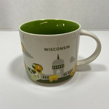 Starbucks Wisconsin 2017 You Are Here Collection Coffee Mug 14 oz. - $24.47