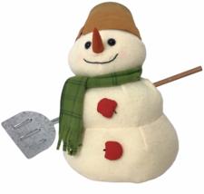 "Hallmark Mitford Snowmen Plush 13"" Max the Gardner by Jan Karon Shovel Snow - $36.62"