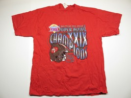 1995 VTG NFL San Francisco 49ers Superbowl XXIX Champions Men's T-Shirt ... - $19.77