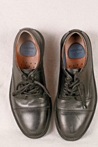 Dockers Gordon 90 2214 Mens Black Leather Oxford Cap Toe Lace Up Shoes S... - $29.69
