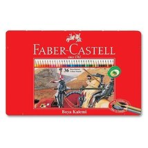 Faber-castell Colored Pencils Flat Cans 36 Color Set TFC-CP/36 C - $19.00
