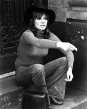 Jacqueline Bisset 8x10 Photo 1960's seated on steps - $7.99