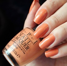 OPI Washington FREEDOM OF PEACH Orange Peach Creme Nail Polish Lacquer W... - $9.21