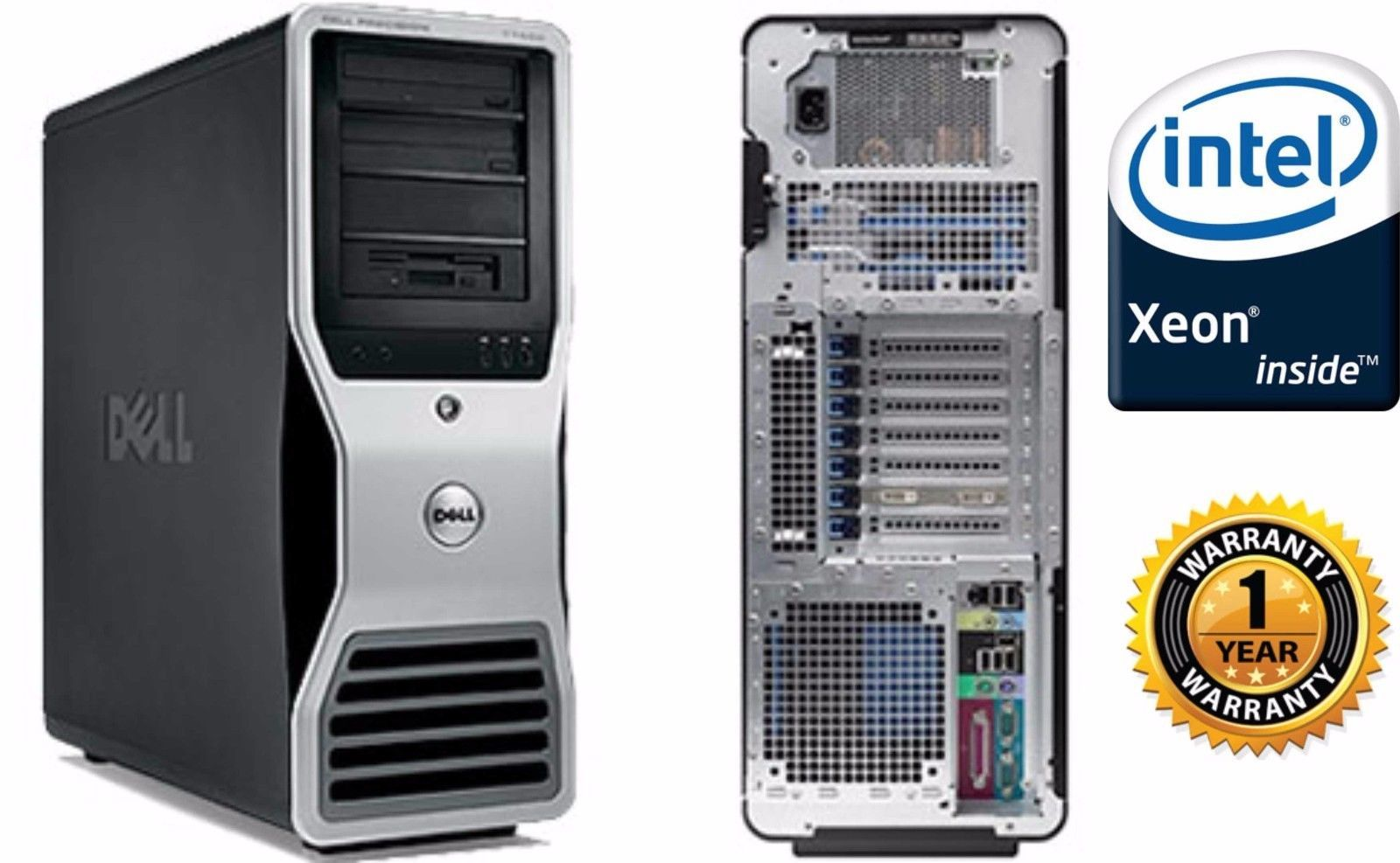 Dell Precision T7500 Workstation 2x 3 46GHz and 50 similar items