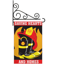 Saving Hearts and Homes Garden - Applique Decorative Metal Fansy Wall Br... - $33.97