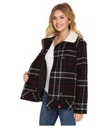 New Vans Womens Spirit Animal Double Breasted Wool Blend Casual Jacket X... - £37.71 GBP