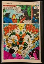 Iron Man #114 1978 Marvel original color guide art Avengers Marvelmania Splash - $69.76