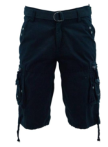 NWT Vertical Sport Men's Size 36W Black Fashion Cargo Shorts - $19.99