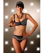 Sexy Nursing Bra, Eco Dots White Cotton or Deni Black/White w/Lace - $37.23+
