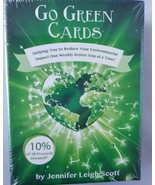Go Green Cards Weekly Action Steps To Make Sustainable Living Easy & Fun - $13.90