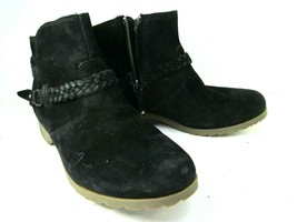 Teva Ankle Boot Bootie Black Shoes Size 9.5 Womens - £22.58 GBP