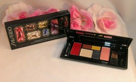 New Shiseido Sparkling Party Palette for Eye Shadows liner Cheek Blush L... - $29.99
