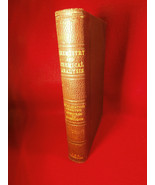 A Textbook of Chemistry and Chemical Analysis 1899 Leather Bound Book - $44.50