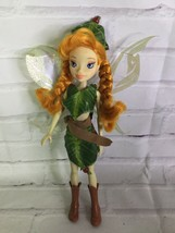 Disney Store Fairies Beck Fairy Doll Animal Talent Tinkerbell Friend Wit... - $22.17