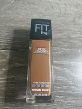 Maybelline Fit Me! Foundation, 360 Mocha 1 oz Dewy Smooth - $9.85