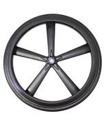 """24 x 1 3/8"""" Wheelchair 5 Spoke Mag Wheel (Pair) - $175.00"""