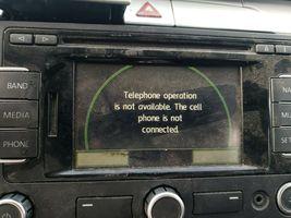 2010-2015 Volkswagen Touch Screen Navigation Radio Head Unit 1K0-035-274-D image 9