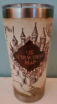 Tervis Harry Potter The Marauder's Map 20 oz Stainless Steel With Hammer Lid NEW - $23.14