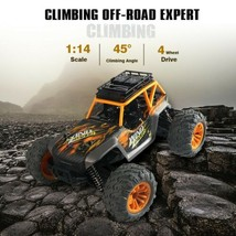 1:14 2.4Ghz 4WD 36Km/h Alloy RC Truck Car Remote Control Car Off Road/RTR Yellow - $87.52