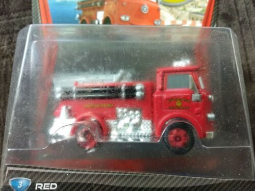 Sealed 2010 Mattel Pixar Disney Cars RED THE FIRETRUCK deluxe you figure  image 2