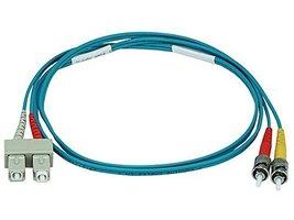 Monoprice 106405 1-Meter ST/SC Multi Mode Duplex 10GB Fiber Optic Cable ... - $6.10