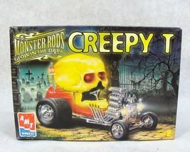 "AMT MONSTER RODS CREEPT ""T"" GLOW IN THE DARK CAR MODEL KIT NEW! - $39.59"
