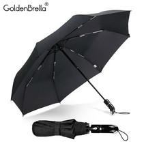 GoldenBrella® Super Water Repellency Umbrella For Men Quality Wind Resis... - $38.36