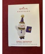 2019 Hallmark Sweet Snowman Employee Gift - Limited Edition - NIB - $18.99