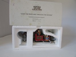 DEPT 56 56545 OVER THE RIVER AND THROUGH THE WOODS HERITAGE  MINT IN BOX... - $19.55