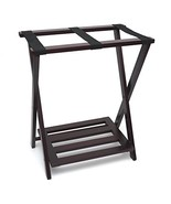 Lipper International 502E Right Height Folding Luggage Rack with Bottom ... - $75.77
