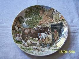 Bradford Exchange Wedgwood of Etruria Life on The Farm The Blacksmiths F... - $31.85